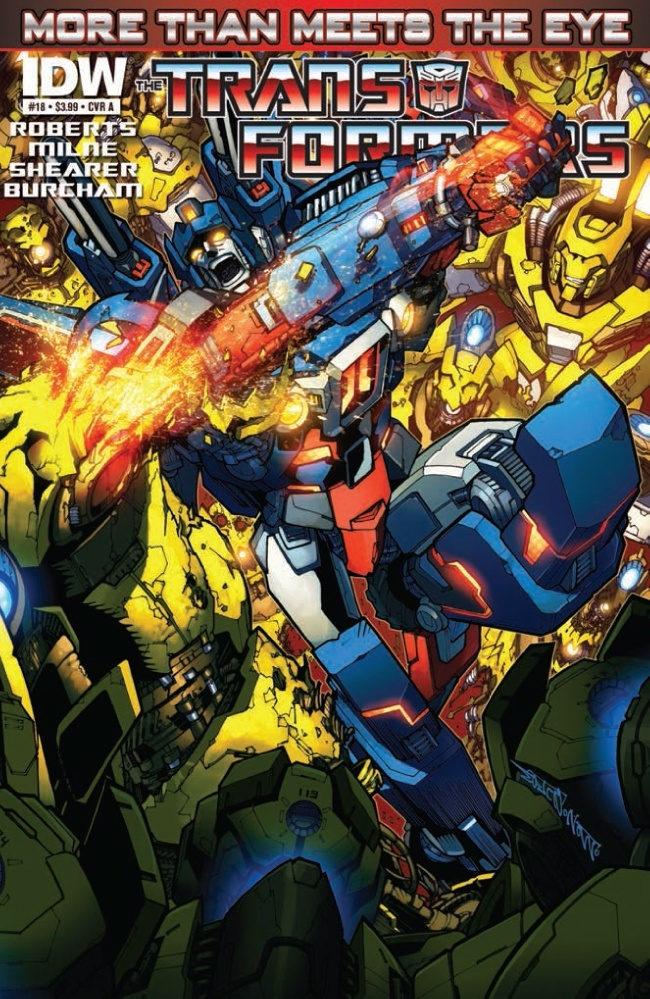 TRANSFORMERS: MORE THAN MEETS THE EYE #18